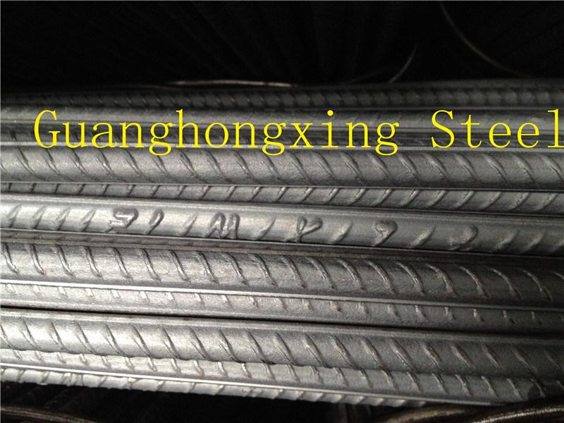 ASTM A615, A706 SD390, BS4449 Gr. 460 Deformed Steel Bar