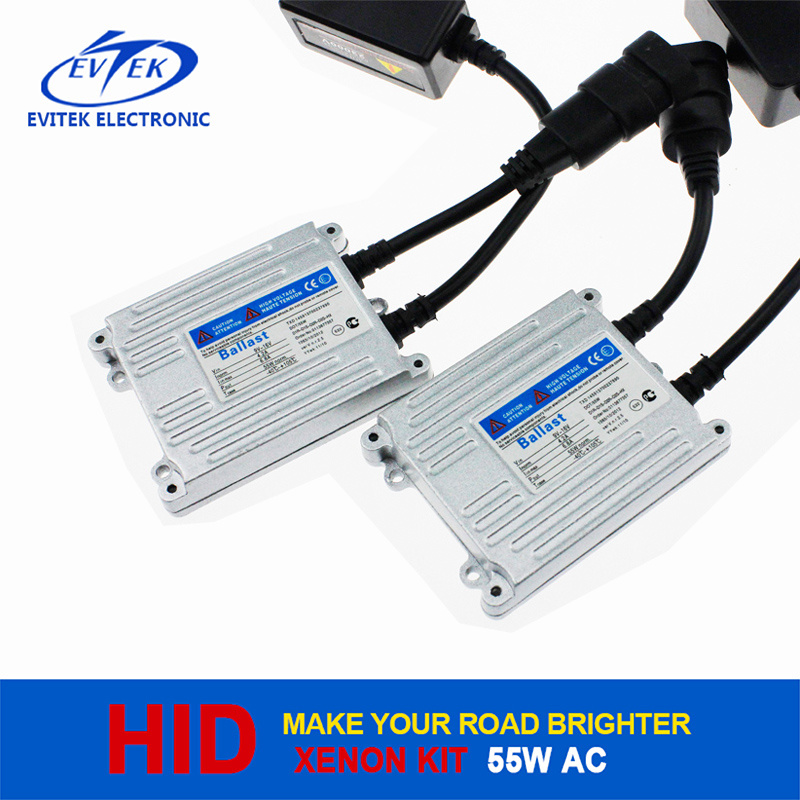 High Quality 55W 12V Xenon Slim Ballast AC HID Headlight