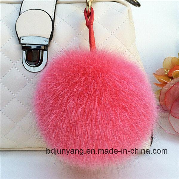 Fashion Real Fox Fur POM Poms