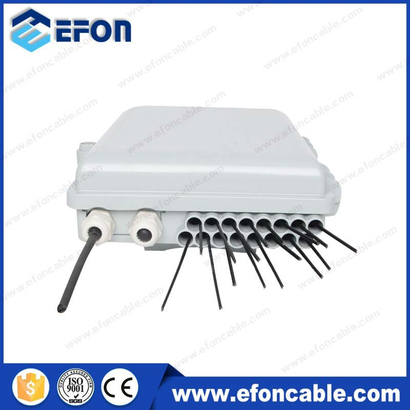 1X8 PLC Splitter 1X16 PLC Splitter FTTH Fiber Optic Terminal Enclosure Box (FDB-016D)