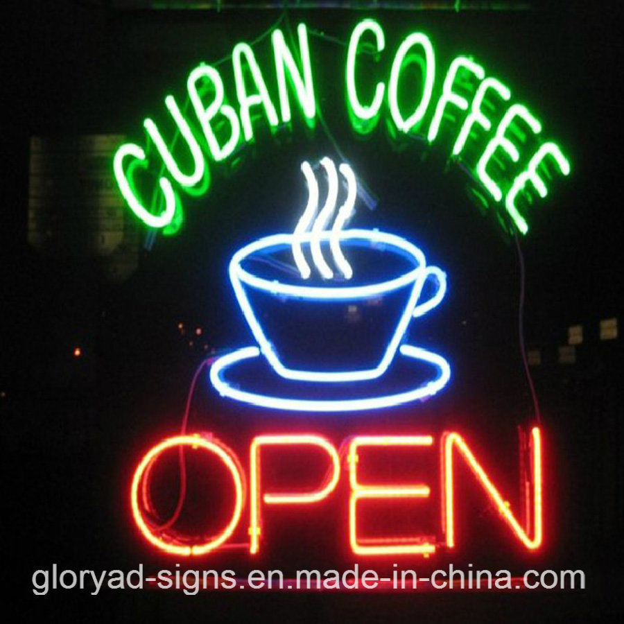 Coffee Neon Sign Best Quality Custom Neon Coffee LED Open Sign