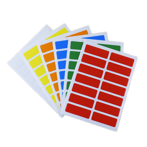 Water Resistant Sticker Paper, Semi High Gloss Sticker Paper