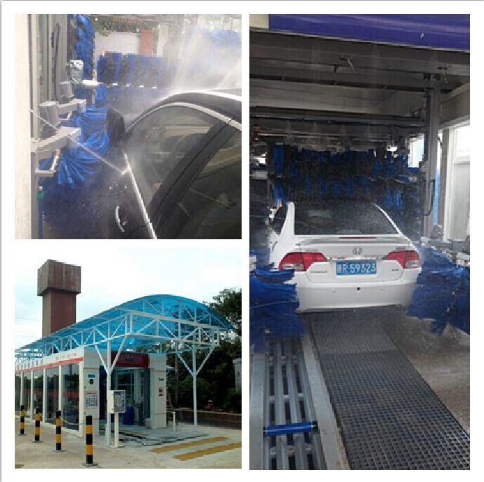 Automatic Tunnel Car Wash Machine for Nigeria Ghana Carwasher
