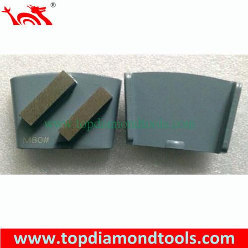 Diamond Segments Concrete Tools Grinding Discs for HTC