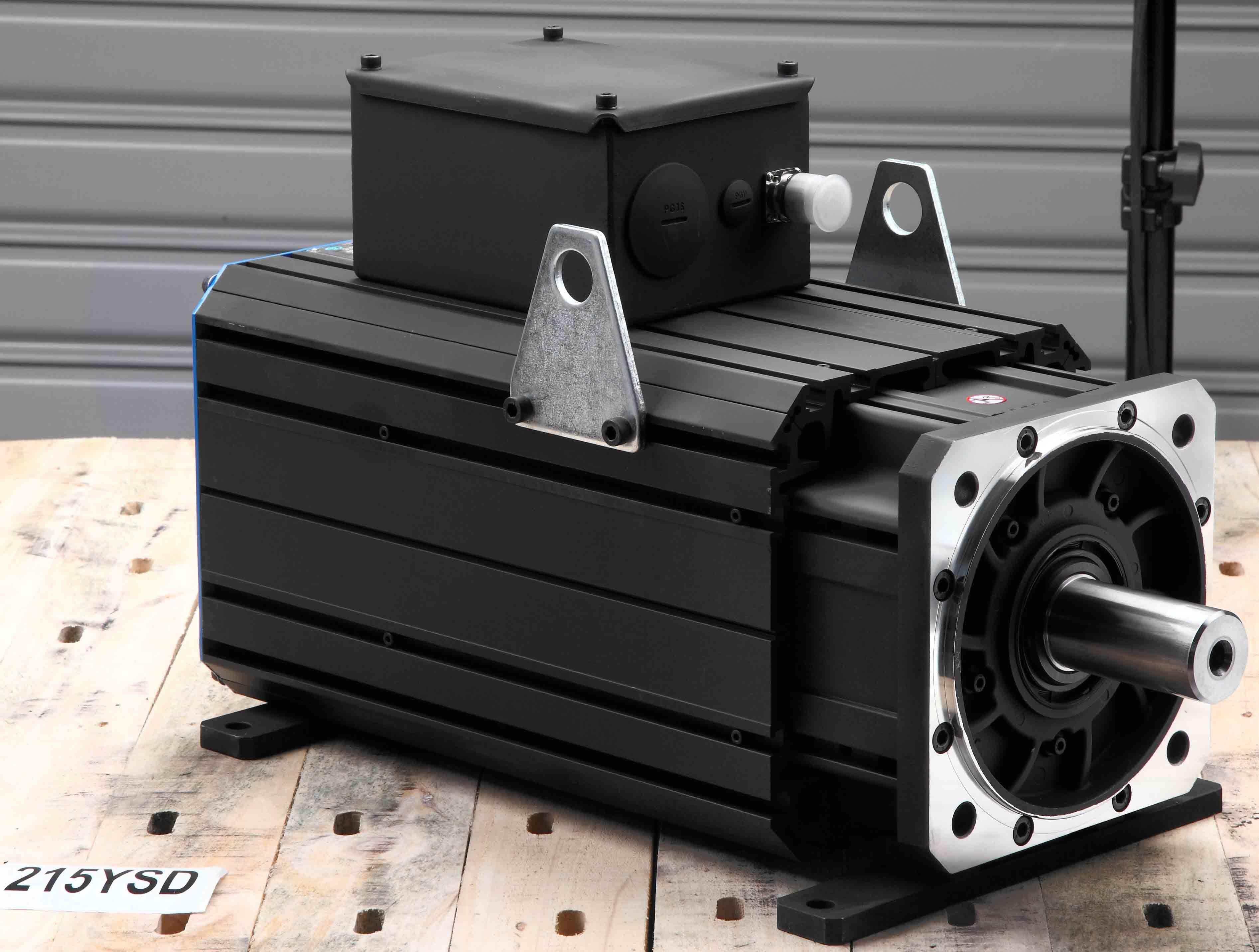 AC Permanent Magnet Servo Motor 215ysd20f 125nm 2000rpm