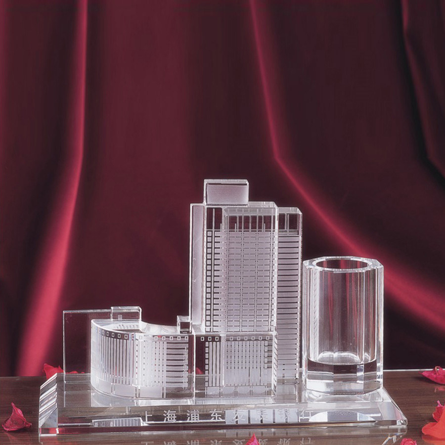 Custom Design K9 Crystal Building Model Buildings