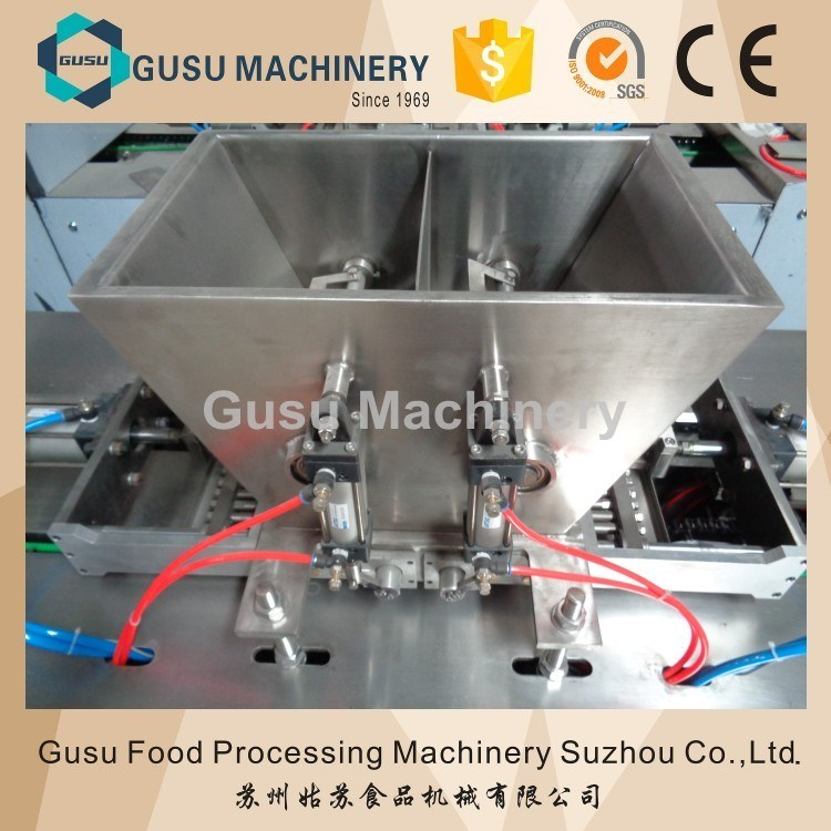 SGS Gusu Center Filling Chocolate Bar Moulding Depositing Machine