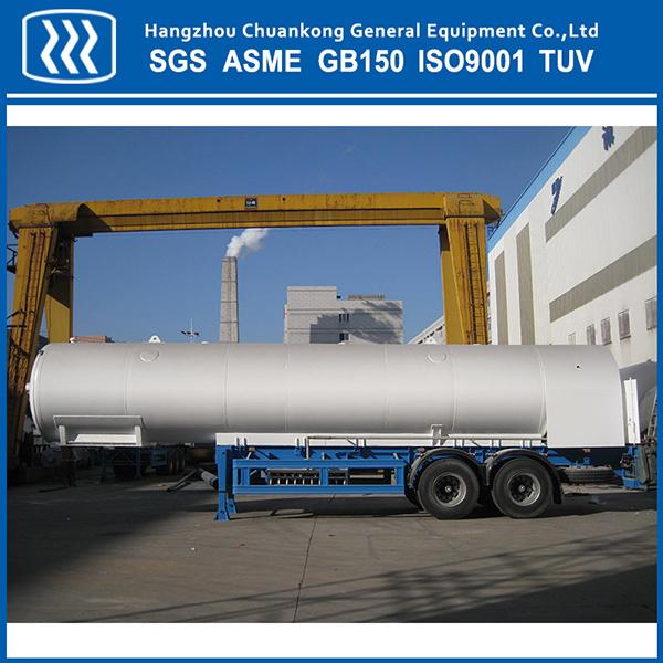 15m3 Liquid Nitrogen Oxygen Argon CO2 Tank Container