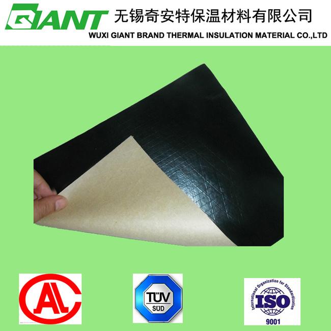 Flame Retardant Black PVC Scrim Kraft Facing