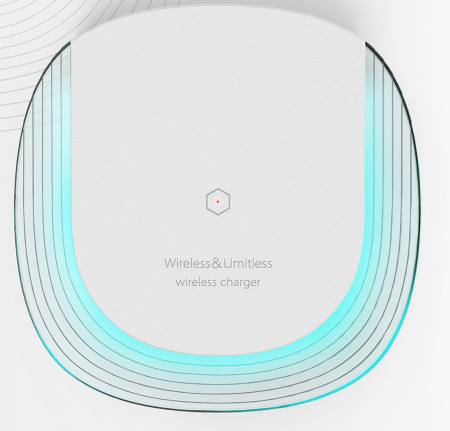 Patented Product Wireless Charger with Generalplus Solution, No Heat.