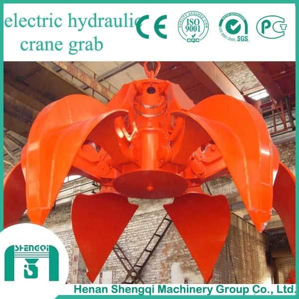 Electric Hydraulic Grab for Grab Crane