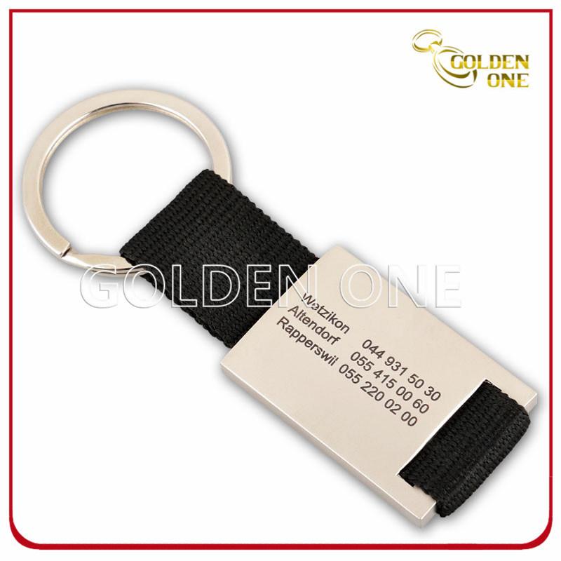 Personalized Engraving Rectangular Metal Key Holder