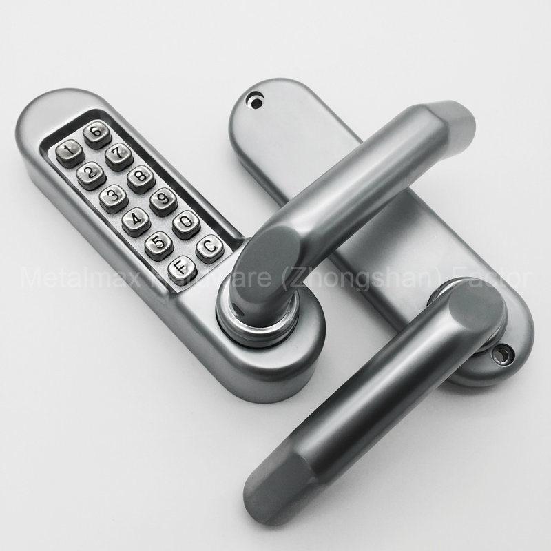Mechanical Keyless Digital Combination Push Button Security Code Door Lock (5201)