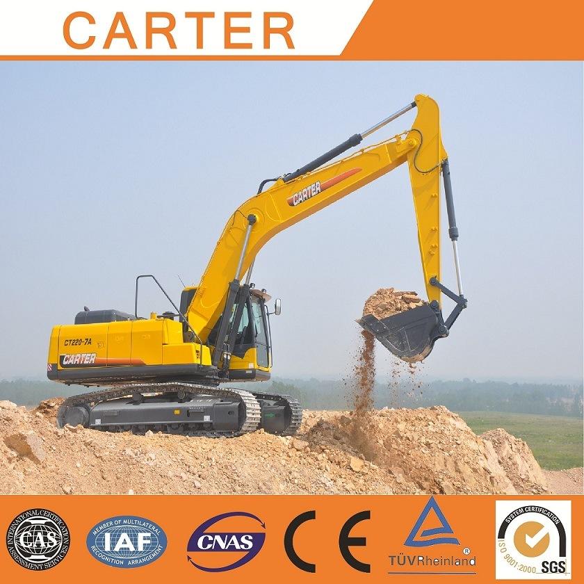 CT220-8c (22T) Multifunction Heavy Duty Crawler Backhoe Excavator