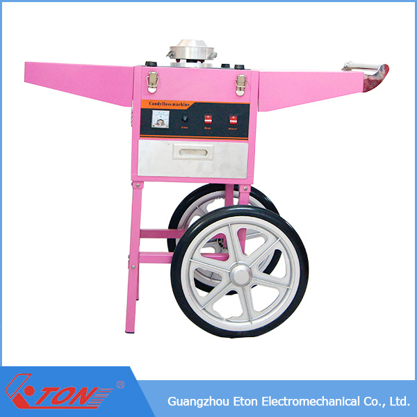 ETL&Ce Approved Electric Cotton Candy Floss Machine with Cart and Cover