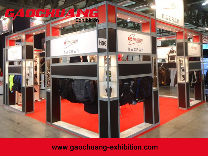 Aluminum Modular Octanorm Exhibition Booth Display Stand