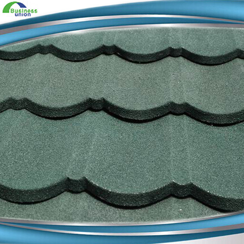 New Design Flat Roofing Shingle Stone Coated Metal Roof Tile with High Quality