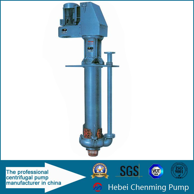 Vertical Wear Resist Sewage Water Transfer Centrifugal Acid Sump Pump