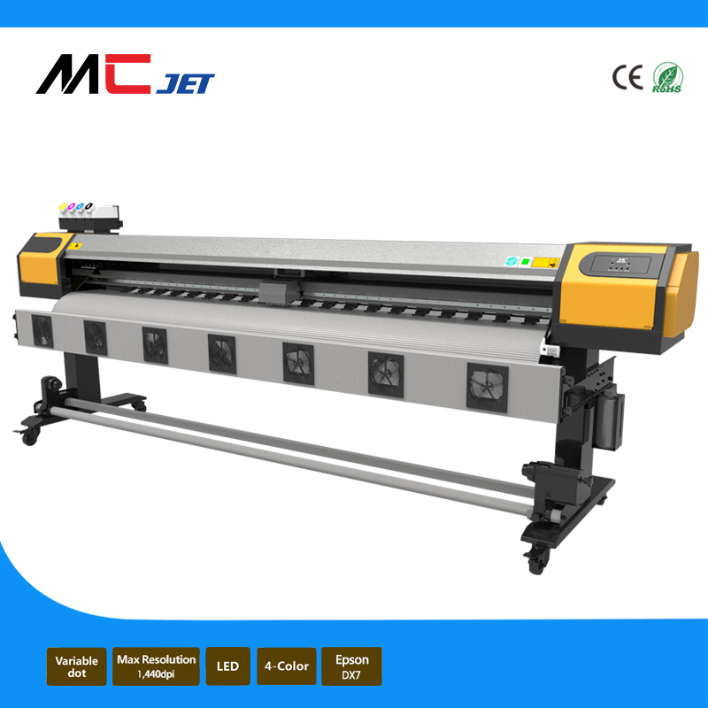 2.1m Large Format Wrapping Sticker Eco Solvent Printer with Dx7