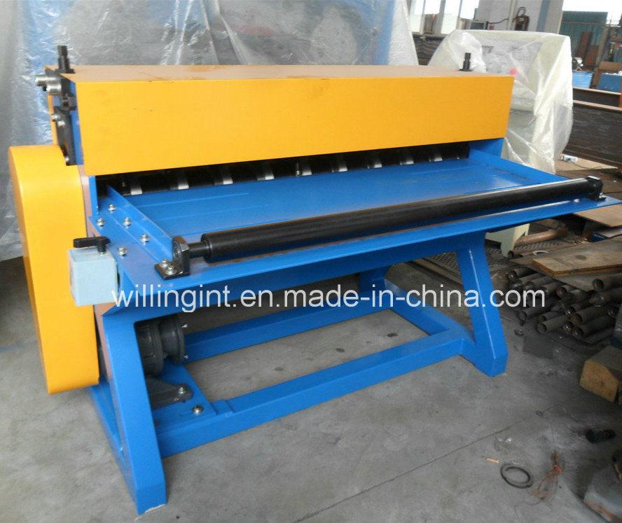 Glazed Steel Aluminum Coils Simple Mini Slitting Machine Line