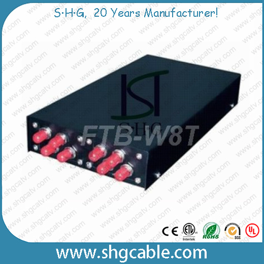 8 Ports Wall Mounted Fiber Optic Terminal Box (FTB-W8T)