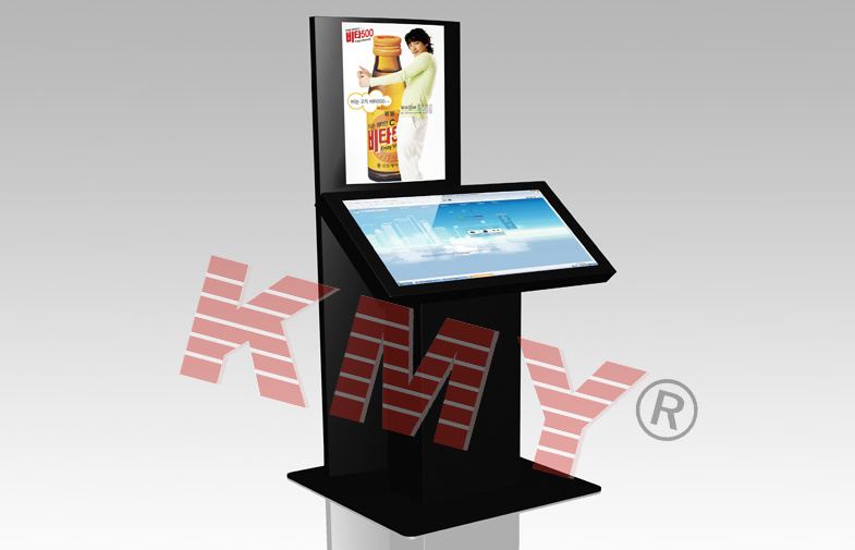 Multi-Functional Cash Payment Dual Touch Self Service Terminal