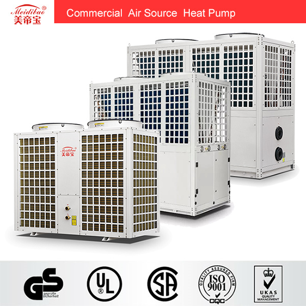 20kw Commercial Air to Water Heat Pump Cop 4.1