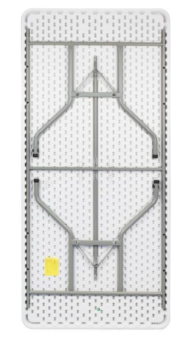 Cheap Portable White Plastic Folding Table