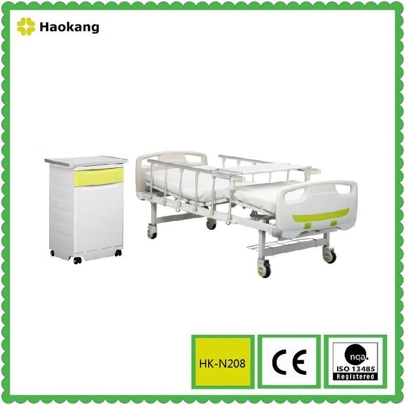 Hospital Bed for Manual Adjustable Medical Equipment (HK-N208)