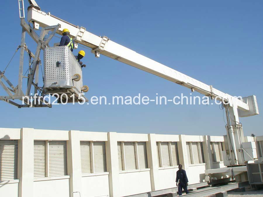 Telescopic Mast Building Mmaintenance Unit Bmu