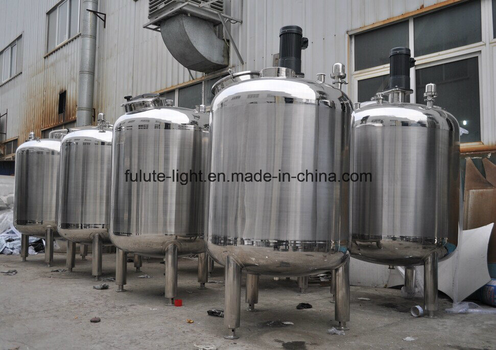 Sanitary Stainless Steel Purified Water Storage Tank