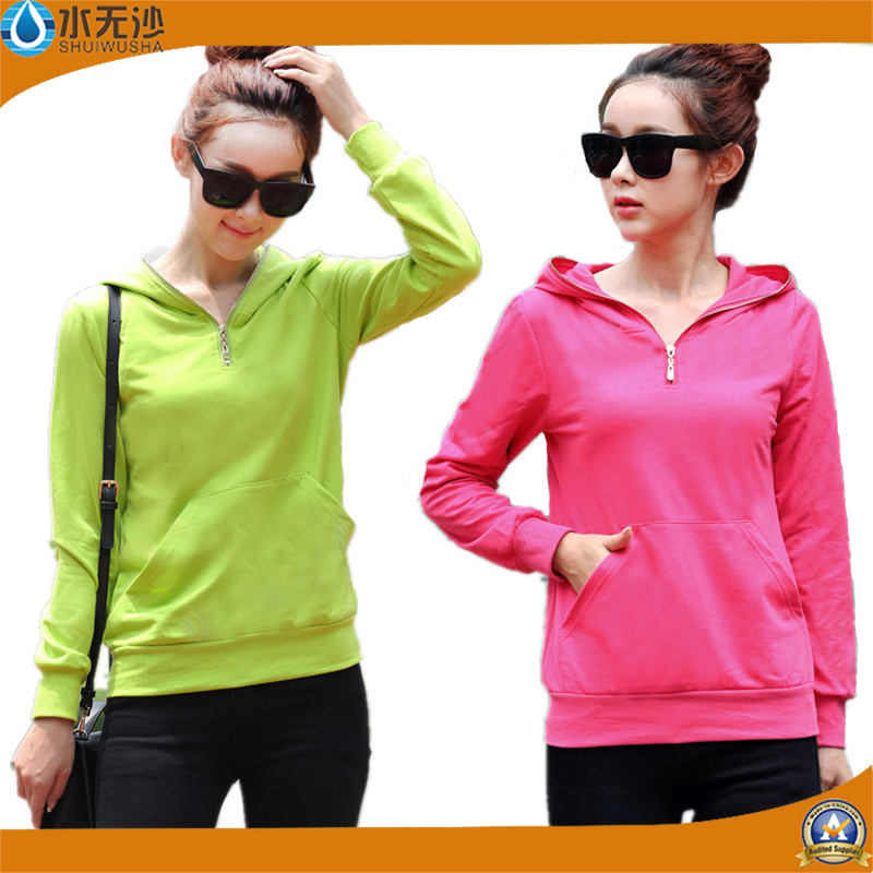 Wholesale Women Sweatshirt Hoodies Fashion Cotton Warm Hoodies