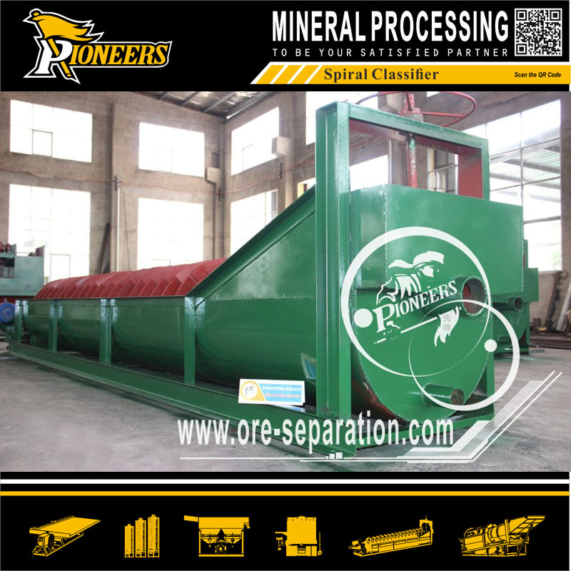 Mineral Separator Equipment Sand Ore Washing Machine Fg Spiral Classifier