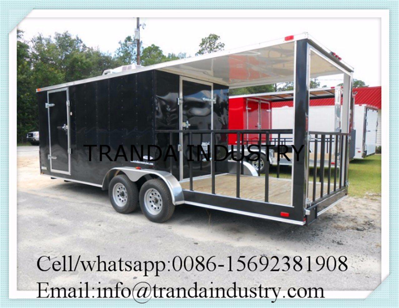 New Mobile Food Trailer Food Cart Trailer
