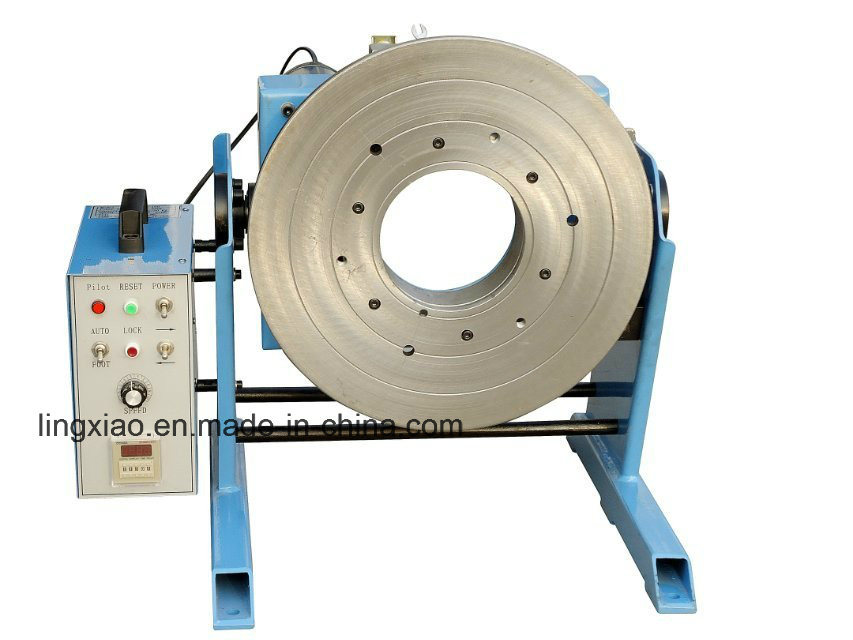Ce Certified Welding Positioner HD-100 for Girth Welding (center through hole 140mm)