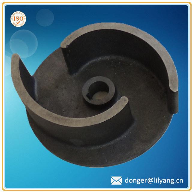 Sand Casting Closed Impeller for Pump, Casting Pump Impeller