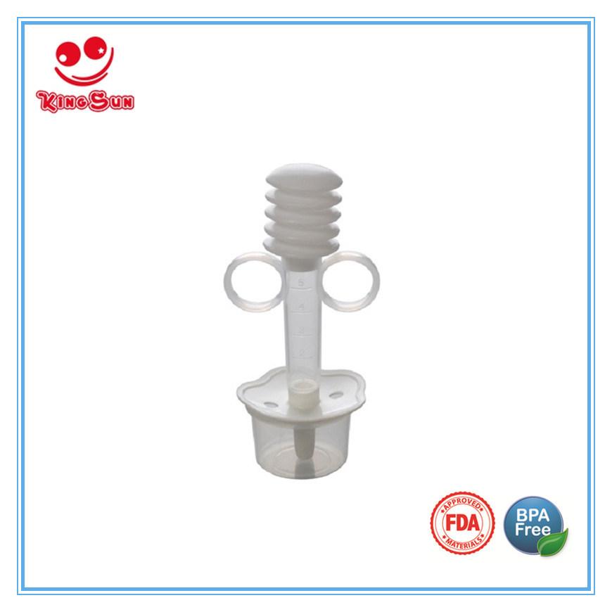 Syringe Style Transparent Baby Medicine Dispenser