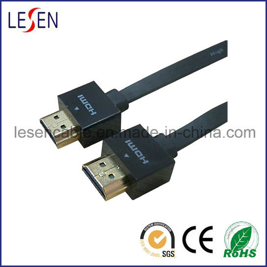 Flat HDMI Cable, Am to Am Plug
