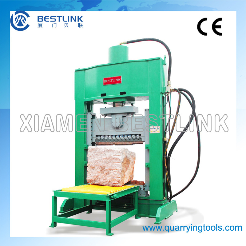 Hydraulic Block Splitting Machine for Granite Quarry