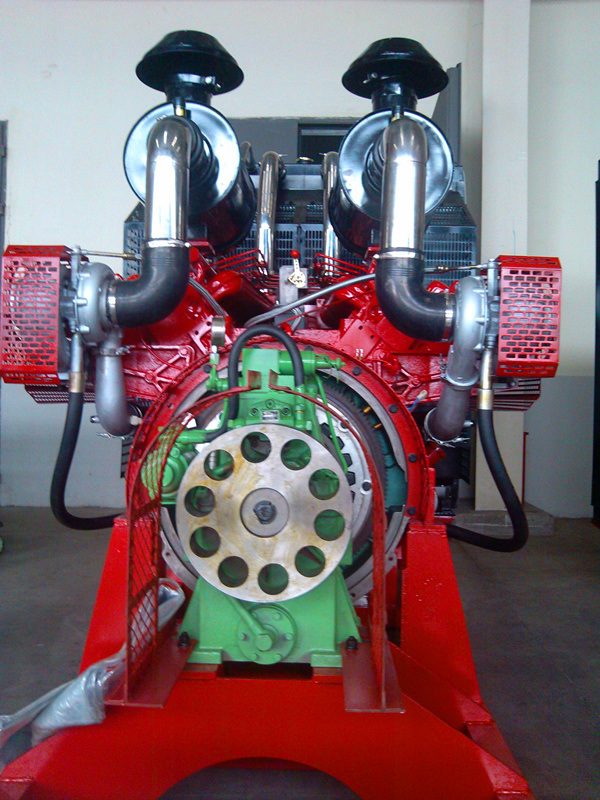 Wandi (WD) Diesel Engine 682kw for Pump (WD305TAB68)
