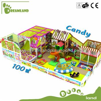 Dreamland New Design Children Amusement Soft Indoor Playground