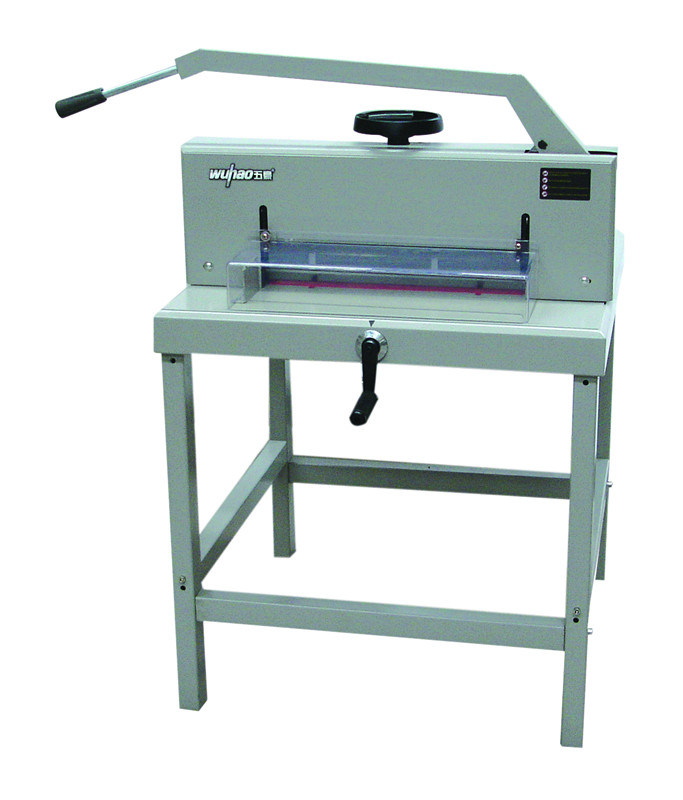 Manual Automatic Grade and Manual Driven Type Paper Cutting Machine (4700)
