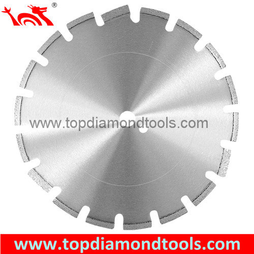 Asphalt Green Concrete Diamond Laser Saw Blade with Drop Segment