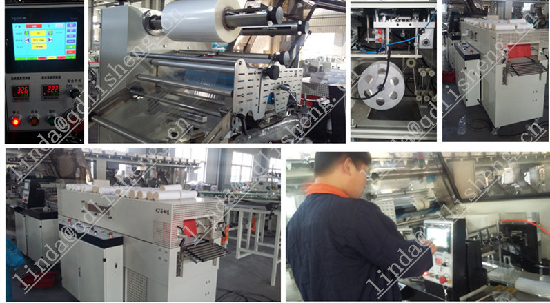 Full Automatic High Strength Heat Shrink Packing Machinery