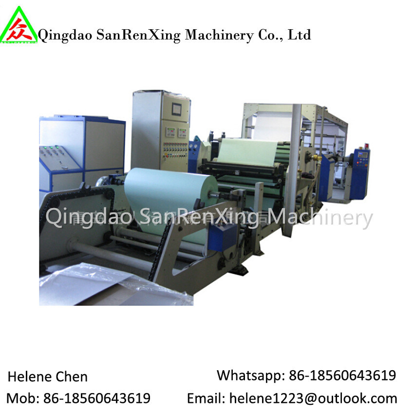 Slot Die Hot Melt Adhesive Label Paper Coating Lamination Machine