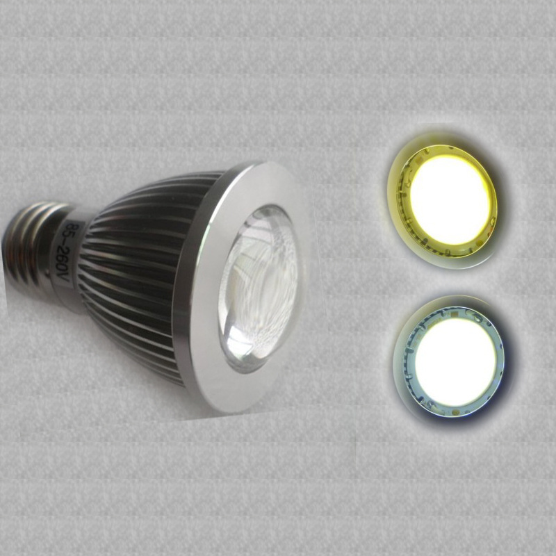 GU10 COB LED Spotlight, Warm White LED Spot Bulbs Lamps