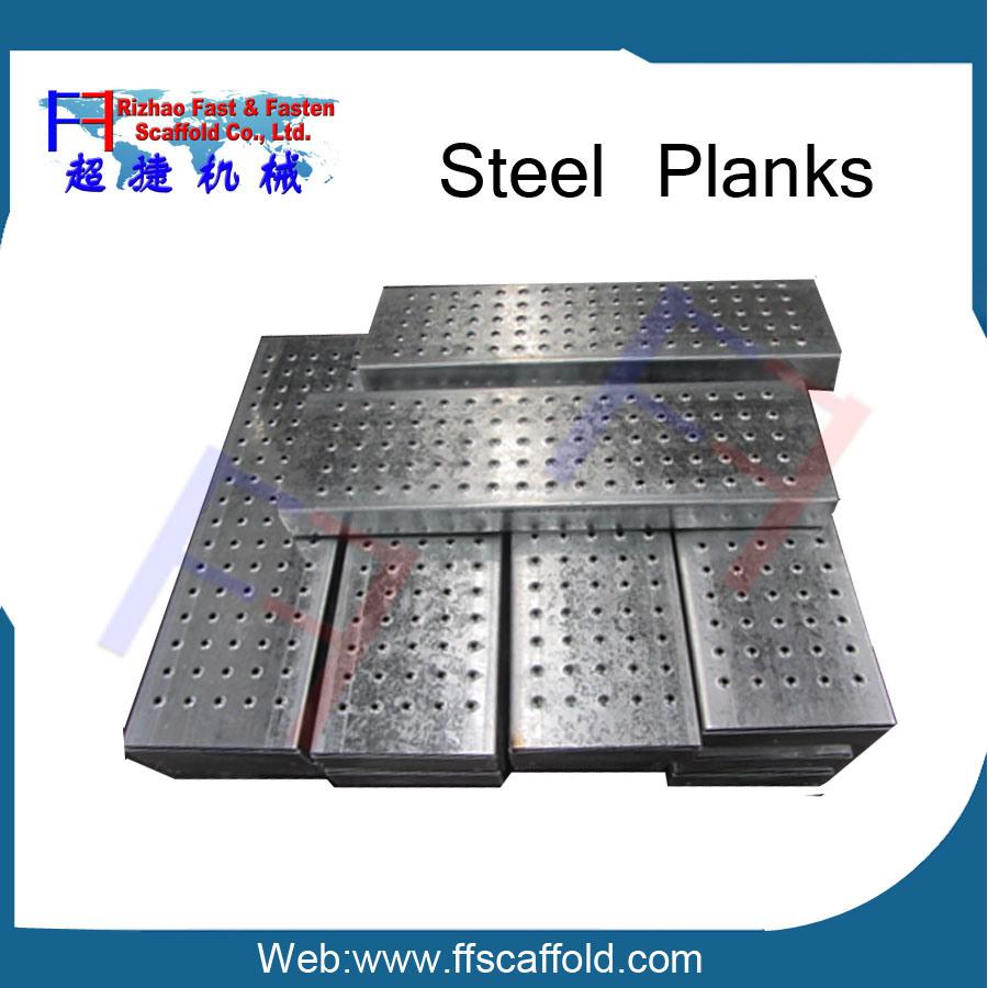 "19"" Scaffold Aluminum-Plywood Plank"