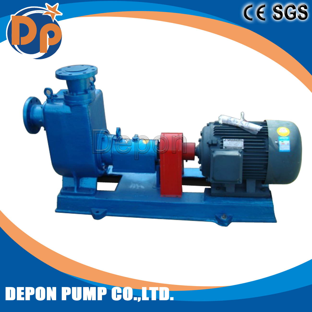 6 Inch Self Priming Non-Clogging Sewage Pump Trash Pump