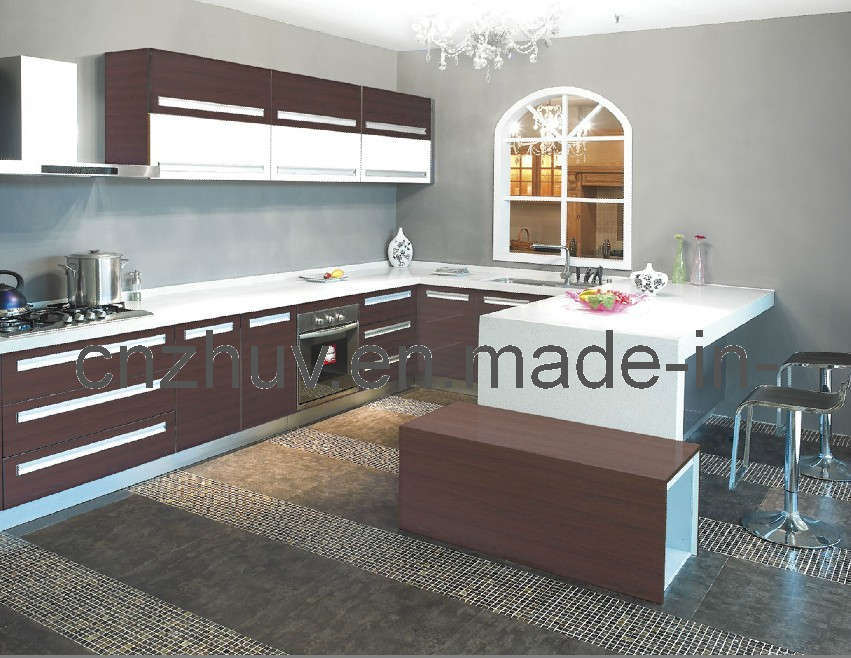 Wooden modular kitchen for Wooden modular kitchen designs