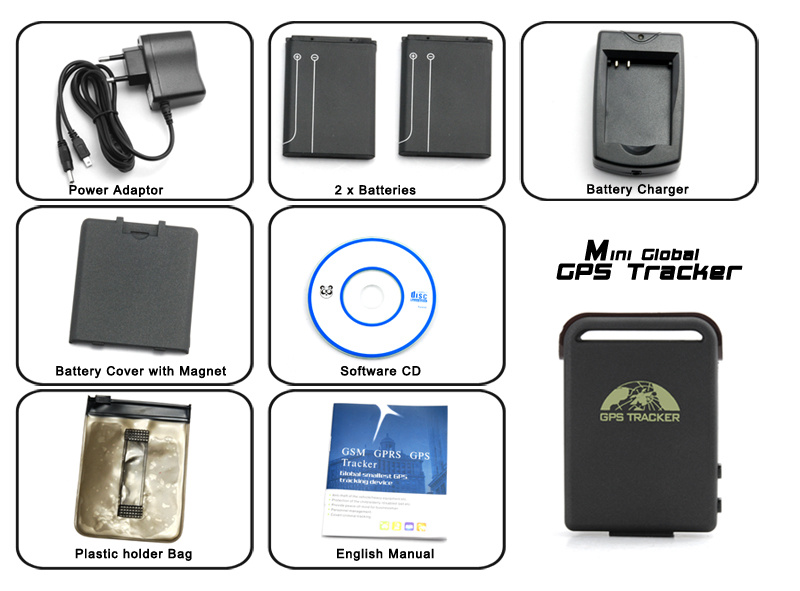 Realtime GPS Car Tracker Mini Anti-Theft Monitor and Alarm